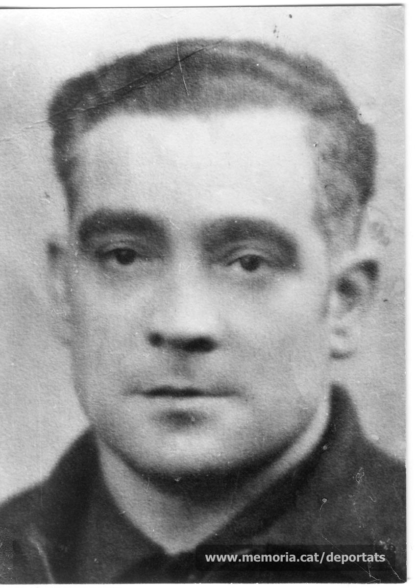Antoni Camps Vives (Font: Amical de Mauthausen i altres camps, Barcelona)