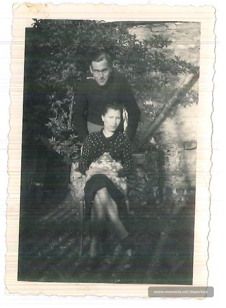 Brunet i la seva esposa Dolors Vila (Font: arxiu particular de Ferran Brunet)