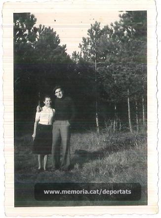 La parella Brunet - Vila (Font: arxiu particular de Ferran Brunet)