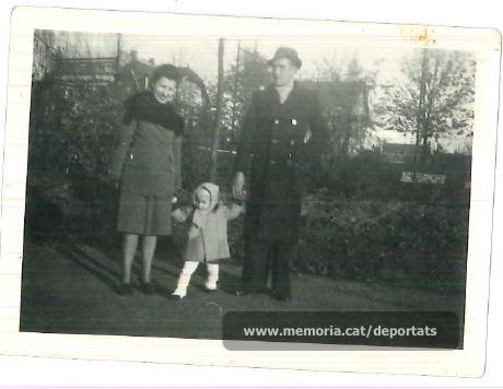 La família Brunet a França (Font: arxiu particular de Ferran Brunet)
