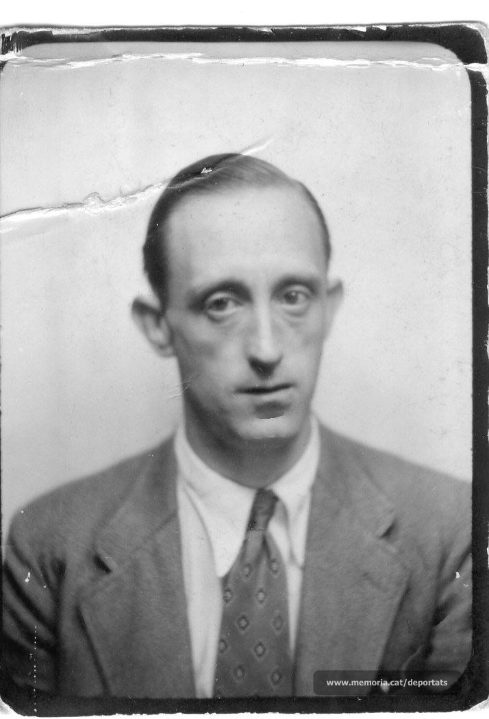 Josep Pons Pérez (Font: Amical de Mauthausen)