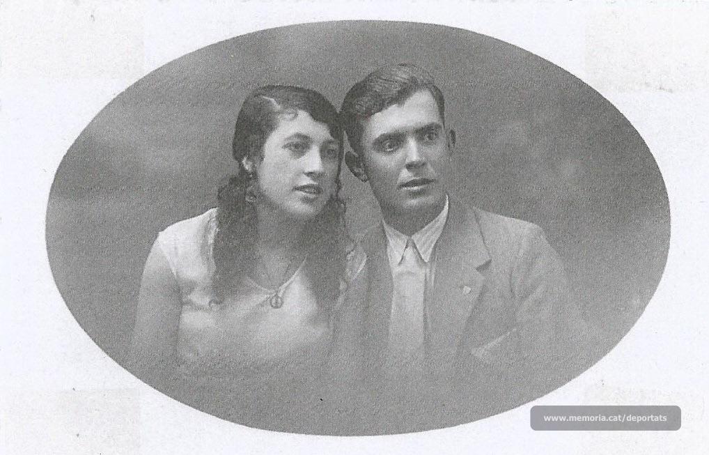 Jaume Viladrosa i Petra Morales, durant el seu prometatge (Font: arxiu particular de Núria Viladrosa Cutrina)